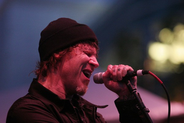 Mark Lanegan at Bumbershoot 2009. Photo by Steven Friederich
